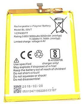 Аккумулятор (батарея) Tecno POP 1s pro F4 pro BL-30VT 3050mAh Оригинал