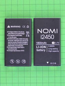 Аккумулятор (батарея) Nomi i2450 X-Treme 1800mAh Оригинал