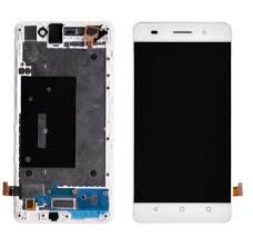 Дисплей (LCD) Huawei Honor 4C (CHM-U01), G Play mini с сенсором белый Оригинал