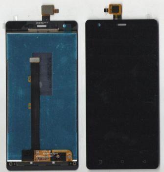 Дисплей (LCD) Nomi i506 Shine с сенсором чёрный Оригинал