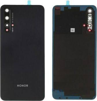 Задняя крышка корпуса Huawei Honor 20 YAL-L21 черная Оригинал