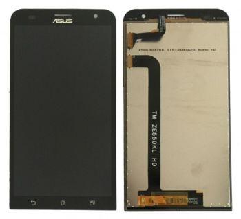 Дисплей Asus ZE551KL ZenFone 2 Laser Z00TD с сенсором (тачскрином) черный Оригинал
