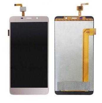 Дисплей (LCD) Leagoo M8, M8 Pro с сенсором золотой Оригинал