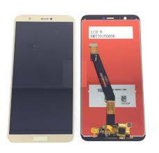 Дисплей (LCD) Huawei P Smart (FIG-LX1), P Smart Dual Sim (FIG-L21) с сенсором золотой Оригинал