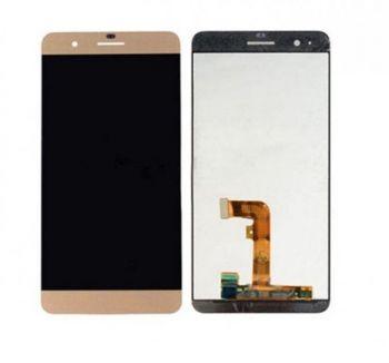 Дисплей (LCD) Huawei Honor 6 Plus (PE-TL10) с сенсором золотой Оригинал