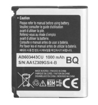 Аккумулятор (батарея) для Samsung AB603443CU S5230, L870, S5233 Оригинал