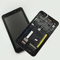 Дисплей (LCD) Asus ME170, FE170cG FonePad (K012, K017) MeMO Pad 7 с сенсором чёрный + рамка Оригинал