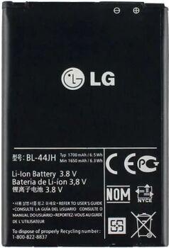 Аккумулятор (батарея) LG E440, E445, E450 ,E455, E460, H410, P750, P870 BL-44JH 1700mAh Оригинал