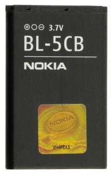 Аккумулятор (батарея) для Nokia BL-5CB 1800, 113, 1280, 1616, C1-02 Оригинал