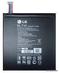Аккумулятор (батарея) для LG G Pad V490, V495 BL-T14 Оригинал