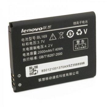 Аккумулятор (батарея) для Lenovo BL169 A789, P70, P800, S560 2000 mAh Оригинал
