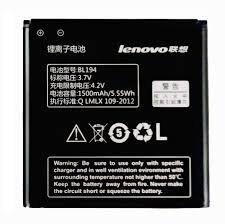 Аккумулятор (батарея) для Lenovo BL194 A288t, A298t, A520, A660, A698t, A690, A326, A5 1500 mAh Оригинал