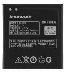 Аккумулятор (батарея) для Lenovo BL209 A706, A788T, A820E, A760, A516, A378T, A398T 2000 mAh Оригинал