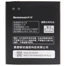 Аккумулятор (батарея) для Lenovo BL210 A536, S820, S820e, A750e, S650, S658T, A656, A766, A658t 2000 mAh Оригинал