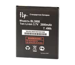 Аккумулятор (батарея) для Fly BL3808 IQ456 Оригинал