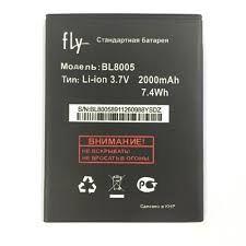 Аккумулятор (батарея) для Fly iQ4512 Evo Chic 4 Quad BL8005 2000mAh Оригинал