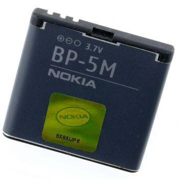 Аккумулятор (батарея) для Nokia BP-5M Nokia 5610, 5700, 6500 Slide, 7390, 8600 Luna Оригинал