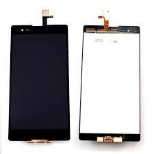 Дисплей (LCD) Sony D5303 Xperia T2 Ultra, D5322 Xperia T2 Ultra Dual с сенсором чёрный Оригинал