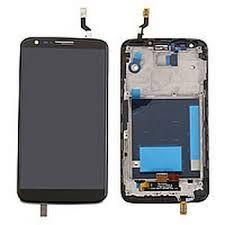 Дисплей (LCD) LG D802 G2, D805 G2 с сенсором черный 20 пин + рамка Оригинал