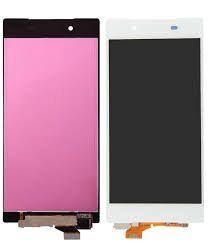 Дисплей (LCD) Sony E6603 Xperia Z5, E6653, E6683 с сенсором белый Оригинал
