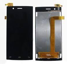 Дисплей (LCD) Fly FS401 Stratus 1 с сенсором чёрный Оригинал
