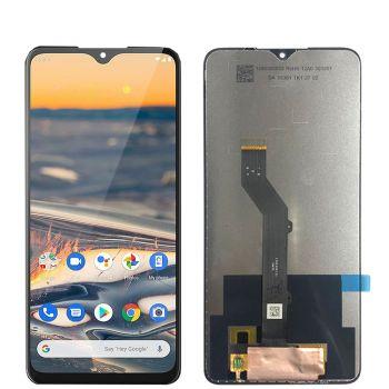 Дисплей Nokia 5.3 Dual Sim TA-1234, TA-1223, TA-1227, TA-1229 с сенсором (тачскрином) черный Оригинал