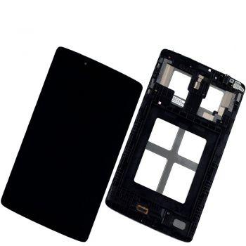 Дисплей LG V480, V490 G Pad 8.0 с сенсором (тачскрином) черный с рамкой Оригинал