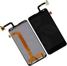 Дисплей (LCD) Fly IQ4514 Quad EVO Tech 4, Nous NS5 с сенсором чёрный Оригинал