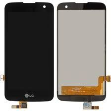Дисплей (LCD) LG K120E, K4 K121, K4 K130E с сенсором черный Оригинал