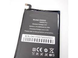 Аккумулятор (батарея) для Oukitel K6000, K6000 Pro Оригинал