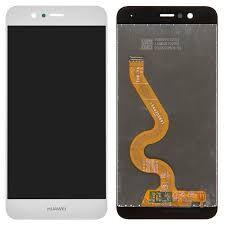 Дисплей (LCD) Huawei Nova 2 (PIC-L29) 2017 с сенсором белый + рамка Оригинал