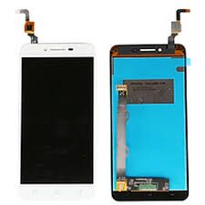 Дисплей (LCD) Lenovo A6020a40 Vibe K5 с сенсором белый (желтый шлейф) Оригинал