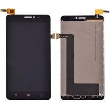 Дисплей (LCD) Lenovo S850 с сенсором черный Оригинал