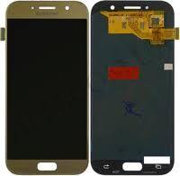 Дисплей (LCD) Samsung A520 Galaxy A5 (2017) TFT (подсветка Оригинал) с сенсором золотой