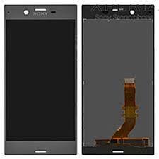 Дисплей (LCD) Sony F8331, F8332 Xperia XZ сенсором серебро Оригинал