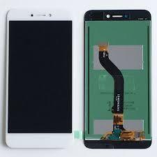 Дисплей (LCD) Huawei P8 Lite (2017), Nova Lite (2016), GR3 (2017) с сенсором белый Оригинал