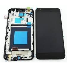 Дисплей (LCD) LG H791 Nexus 5X с сенсором черный + рамка Оригинал