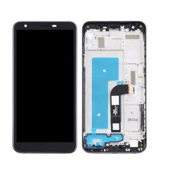 Дисплей LG K30 X320, LMX320EMW 2019 с сенсором (тачскрином) черный с рамкой Оригинал