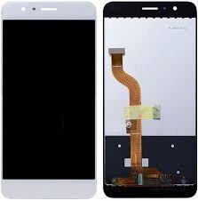 Дисплей (LCD) Huawei P8 Lite (2017), Nova Lite (2016), GR3 (2017) с сенсором белый + рамка Оригинал