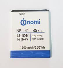 Аккумулятор (батарея) для Nomi NB-41, i400 Оригинал