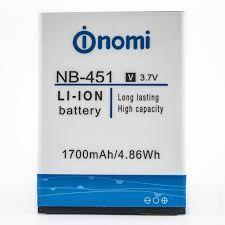 Аккумулятор (батарея) для Nomi NB-451 i451 Оригинал