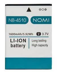 Аккумулятор (батарея) для Nomi NB-4510 i4510 Оригинал