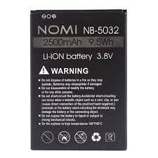 Аккумулятор (батарея) для Nomi NB-5032 i5032 EVO X2 Оригинал