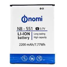 Аккумулятор (батарея) для Nomi NB-551, i551 Оригинал