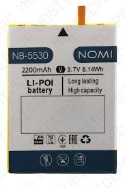Аккумулятор (батарея) для Nomi i5530 Space X NB-5530 Оригинал