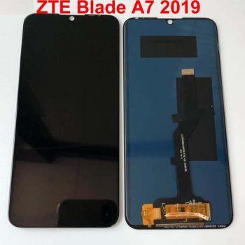 Дисплей ZTE Blade A7 2019 с сенсором (тачскрином) черный Оригинал