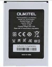 Аккумулятор (батарея) для Oukitel C8, S-TELL M655 Оригинал