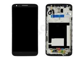 Дисплей (LCD) LG D800 G2, D801, D803, LS980, VS980 с сенсором черный + рамка Оригинал