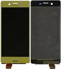 Дисплей (LCD) Sony F5121 Xperia X, F5122, F8131, F8132 с сенсором золотой Оригинал