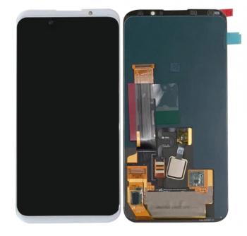 Дисплей Meizu 16X M872H, M872Q с сенсором (тачскрином) белый Оригинал